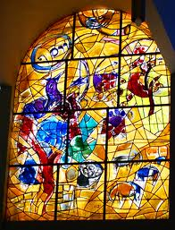 Chagall windows at Hadassah Hospital, Jerusalem