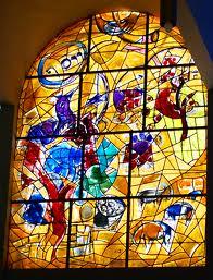 Chagall windows at Hadassah Hospital, Jerusalem
