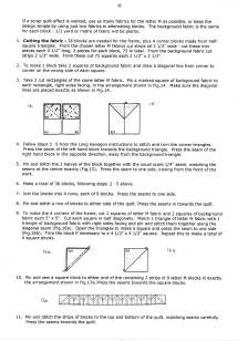 Instructions for making Maria's quilt 004