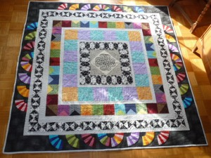 Ingrid Müller quilt from Germany