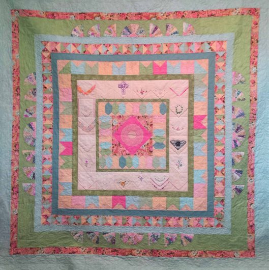 Maria's Quilt by Mel Terpstra